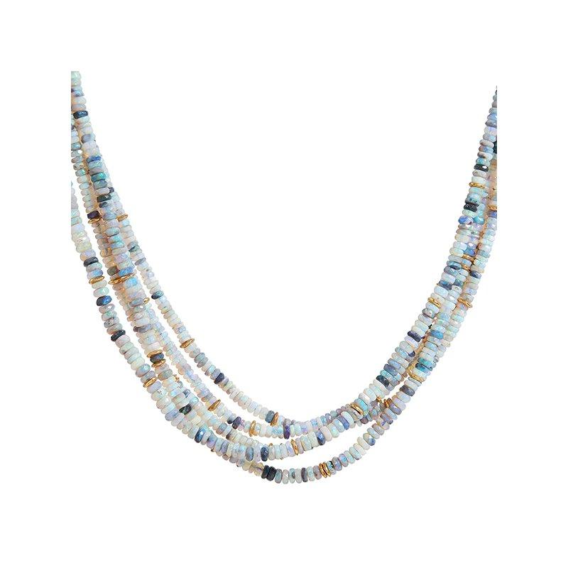 Gurhan 5 Strand Opal Necklace