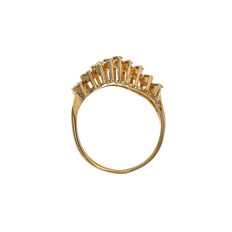 Estate Radcliffe Diamond Wave Ring