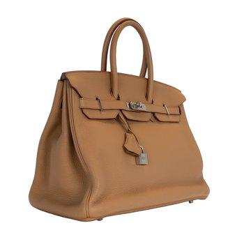 35cm Tabac Birkin Bag