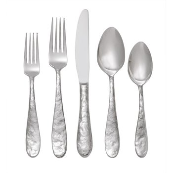 Cast Iron 5-Piece Piece Flatware Set