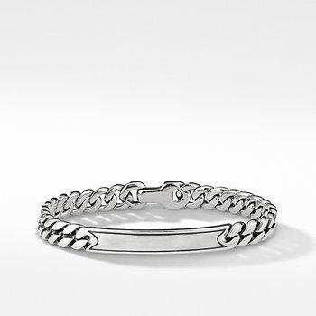 Micro Curb Chain ID Bracelet