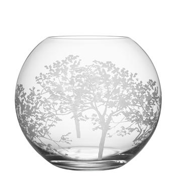 "Organic Round Vase 8"""