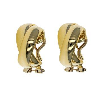 Double Half Hoop Earrings