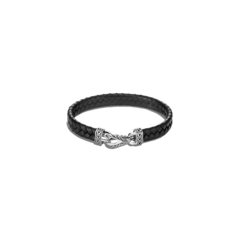 John Hardy Asli Classic Chain Link Station Bracelet - Black