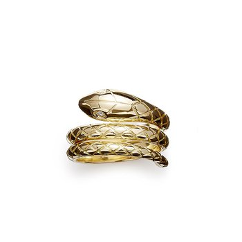 Double Serpenti Ring