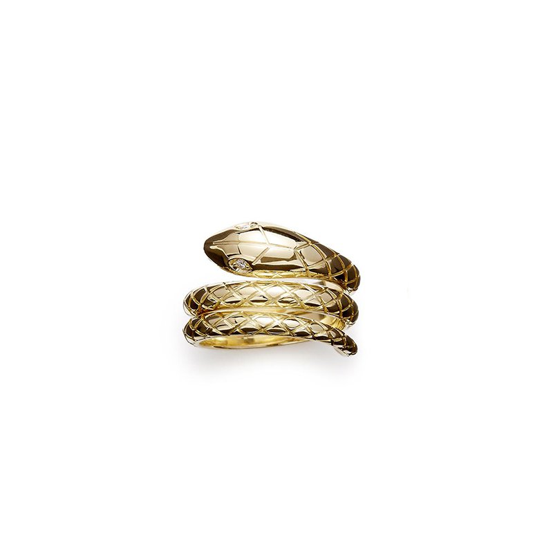 Temple St. Clair Double Serpenti Ring