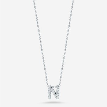 "Diamond ""N"" Pendant"