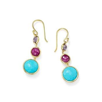 Lollipop Lollitini 3-Stone Drop Earrings