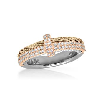 Carnation Cable Petite Opulence Ring