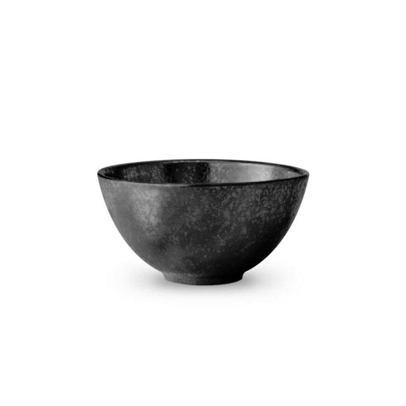 L' Objet Alchimie Black Cereal Bowl