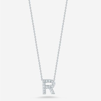 "Diamond ""R"" Pendant"