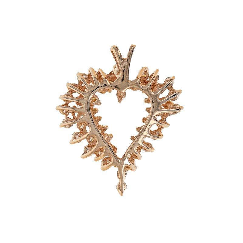 Estate Radcliffe Diamond Heart Pendant