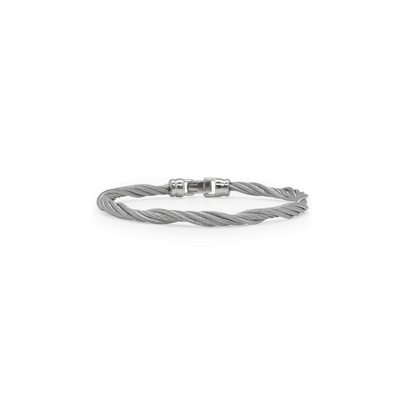 ALOR Modern Twist Bracelet