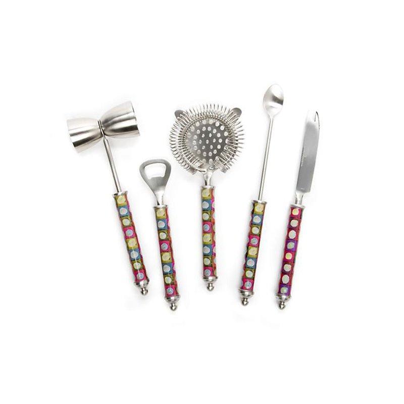 Mackenzie-Childs 3260 Bar Tool Set-Unorthodot