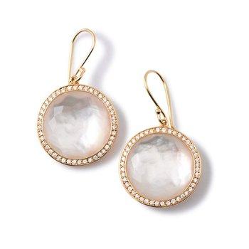 Lollipop Mother-of-Pearl Drop Earrings