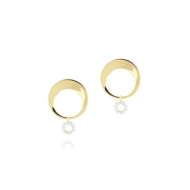 Phillips House Crescent Loop Earrings