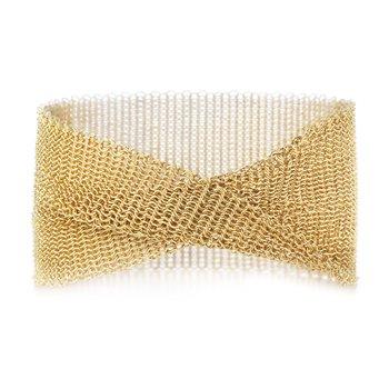 Elsa Peretti Wide Mesh Bracelet