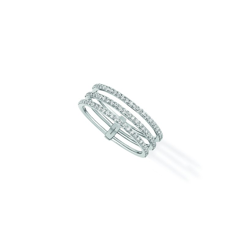 Messika Gatsby 3-Row Ring