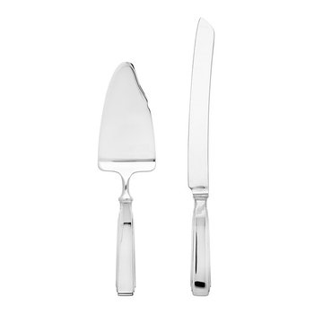 Art Deco Cake Server & Knife Set