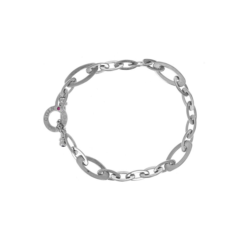 Estate Roberto Coin Chic & Shine Oval Link Bracelet
