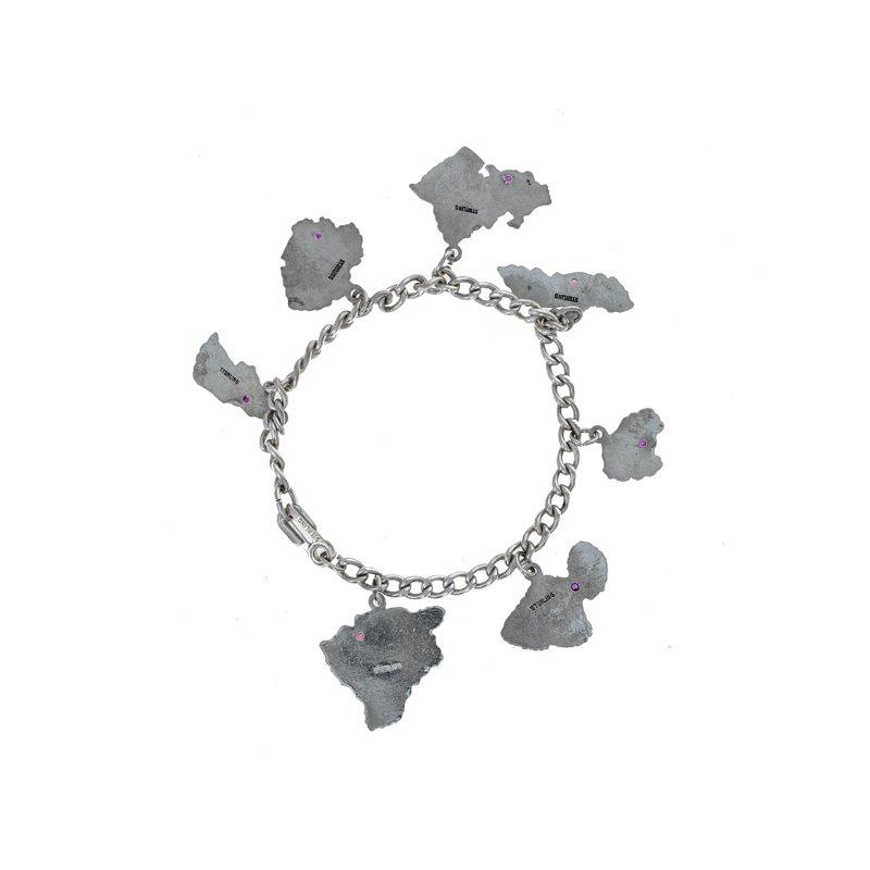 Estate Radcliffe Hawaii Charm Bracelet
