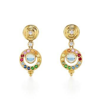 Double Orbit Tolomeo Earrings
