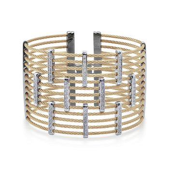 Yellow Cable Petite Precision Cuff