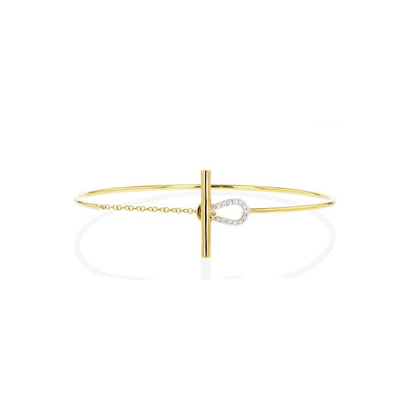 Phillips House Affair Keyhole Toggle Wire Bracelet