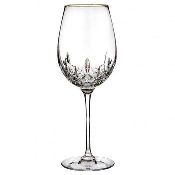 Lismore Gold Wine Glass