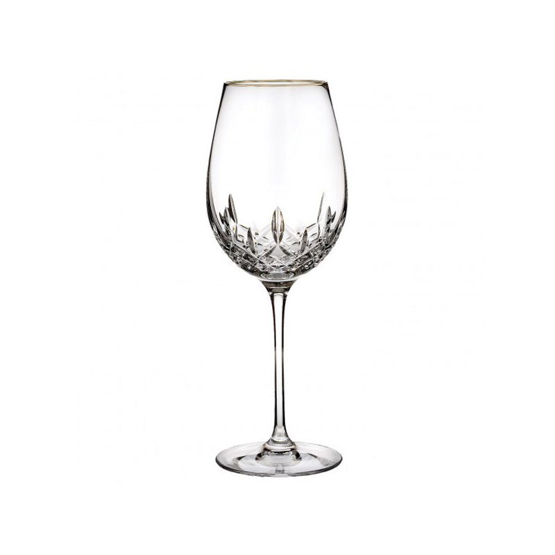 Waterford Lismore Gold Wine Glass