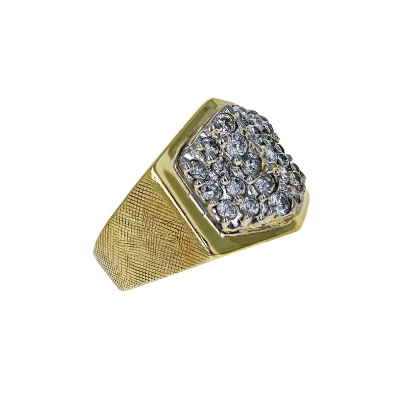 Estate Radcliffe Diamond Pyramid Ring