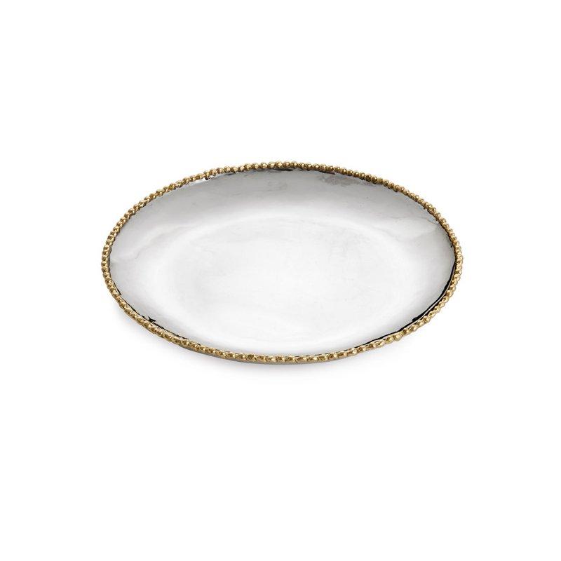 Michael Aram Molten Gold Round Charger/Platter