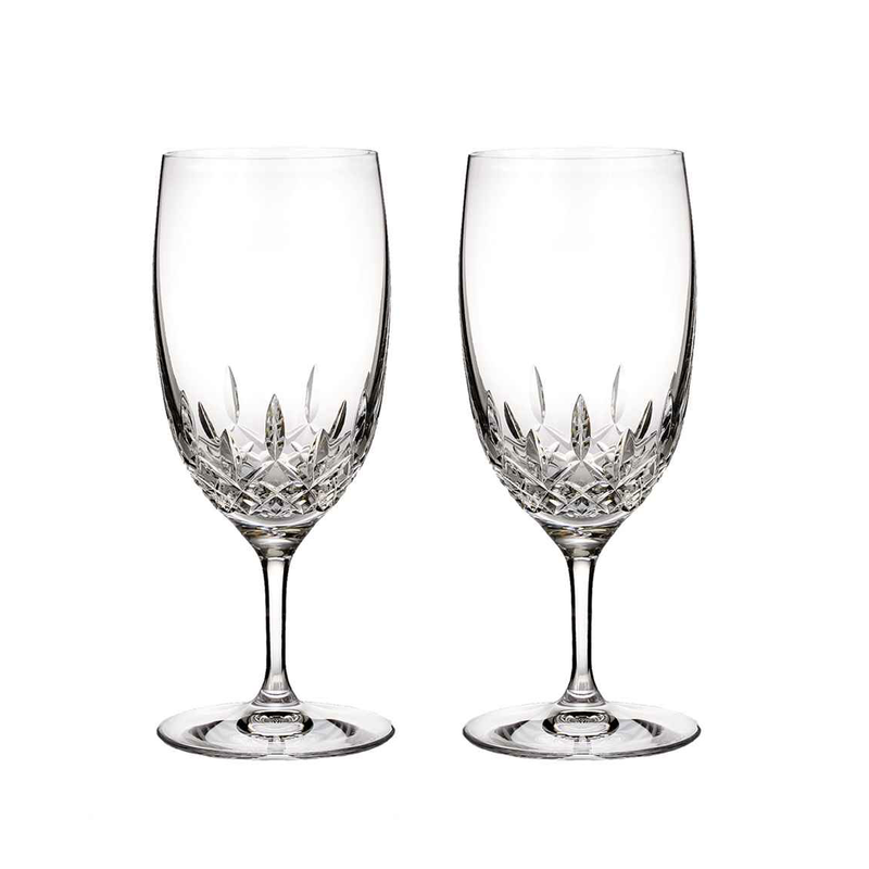 Waterford Lismore Essence Iced Beverage Pair
