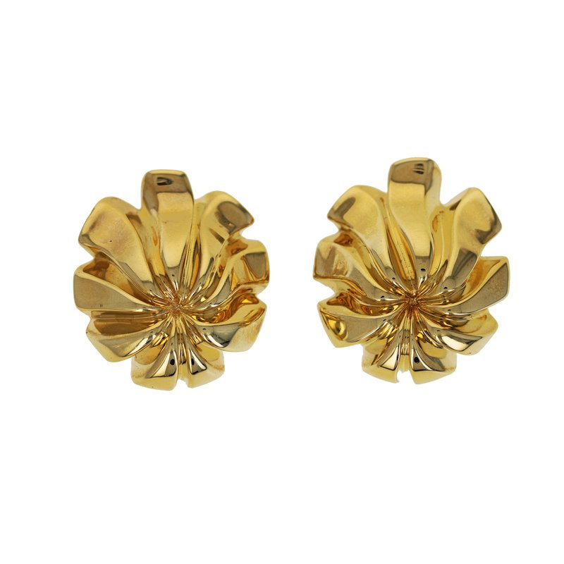Estate Tiffany & Co. Floral Earrings