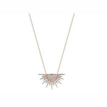 Starburst Diamond Necklace