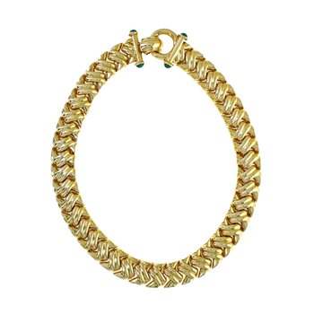 Braided Hollow Necklace Collar