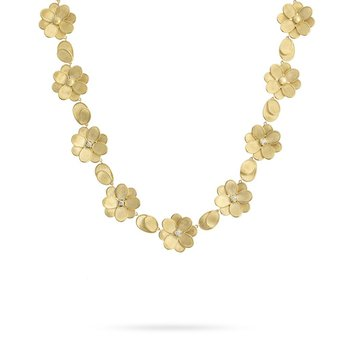 Petali Flower Collar Necklace