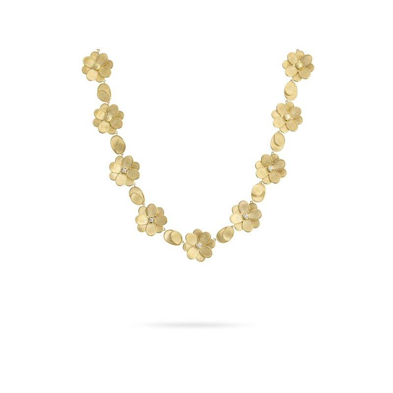 Marco Bicego Petali Flower Collar Necklace