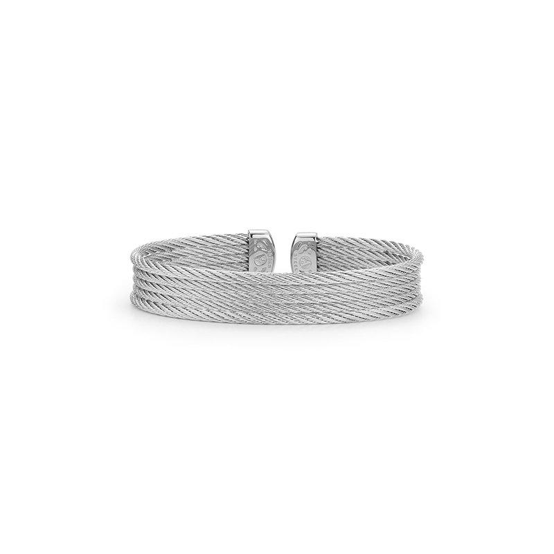 ALOR Grey Cable Mini Cuff