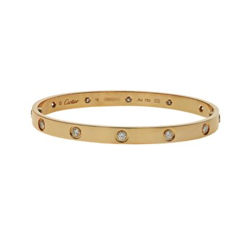 10 Diamond Love Bracelet