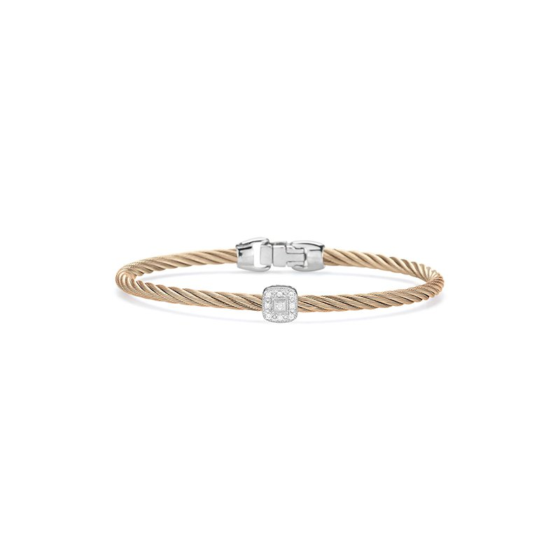ALOR Carnation Cable Essential Stackable Bracelet