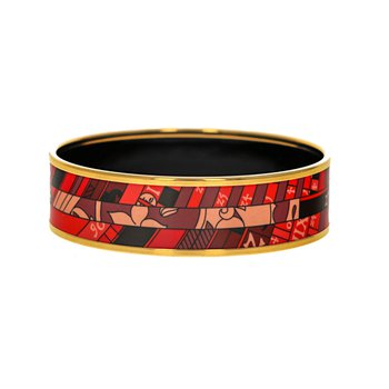 Wide Rouge Astrologie Nouvelle Bangle