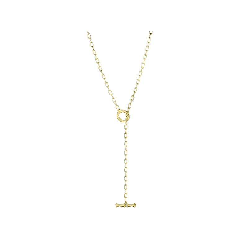 """Penny Preville 24"""" Flat Link Necklace with Toggle"""