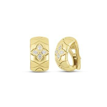 Royal Princess Flower Earrings