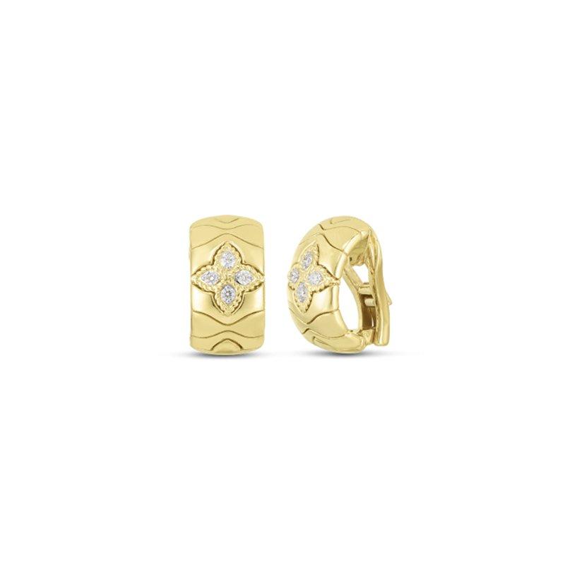 Roberto Coin Royal Princess Flower Earrings