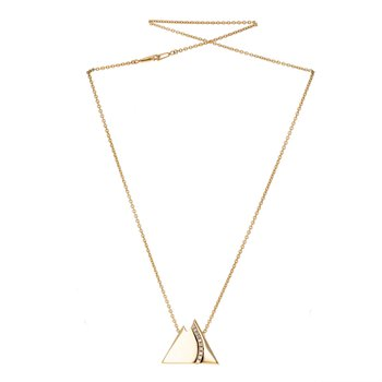 Diamond Mountain Motif Necklace