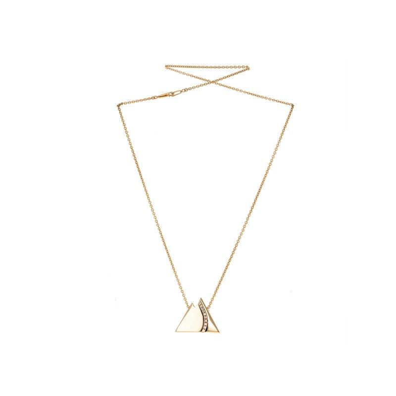 Estate Radcliffe Diamond Mountain Motif Necklace