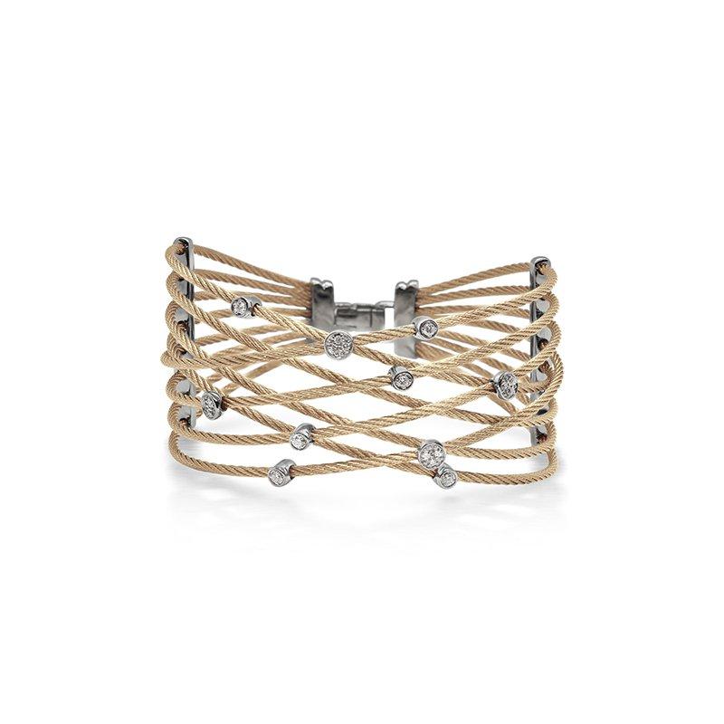 ALOR Carnation Cable Constellation Bracelet