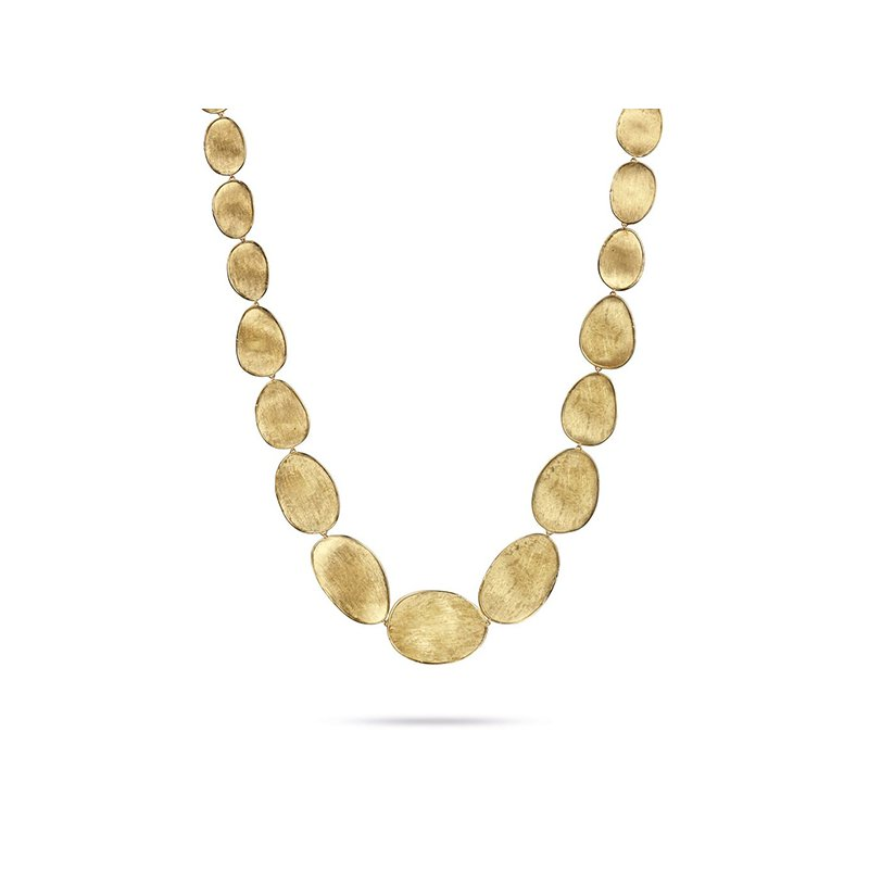 Marco Bicego Lunaria Medium Graduated Collar Necklace