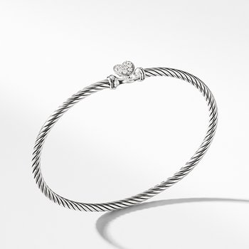 Cable Collectibles Heart Bracelet with Diamonds